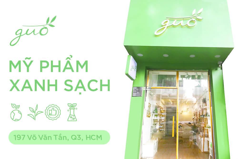 Cửa hàng mỹ phẩm xanh sạch - GUO