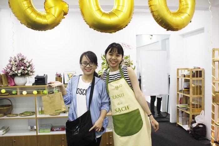 GUO cùng Khách Hàng trong ngày khai trương cửa hàng tại Hồ Chí Minh