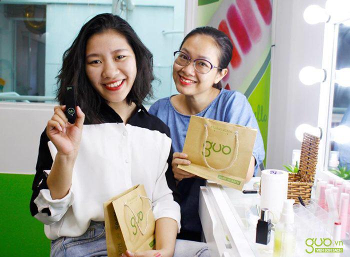 Son sạch GUO - sản phẩm làm đẹp cho sức khỏe phái nữ.