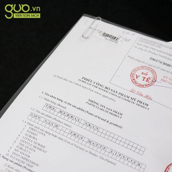 bộ Y Tế yêu cầu phải có giấy chứng nhận nguồn gốc nguyên liệu làm ra sản phẩm