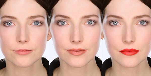 mẹo makeup hay cho môi mỏng