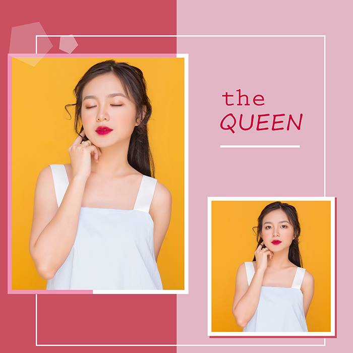 the queen - đỏ rượu - màu son quyền lực nhất