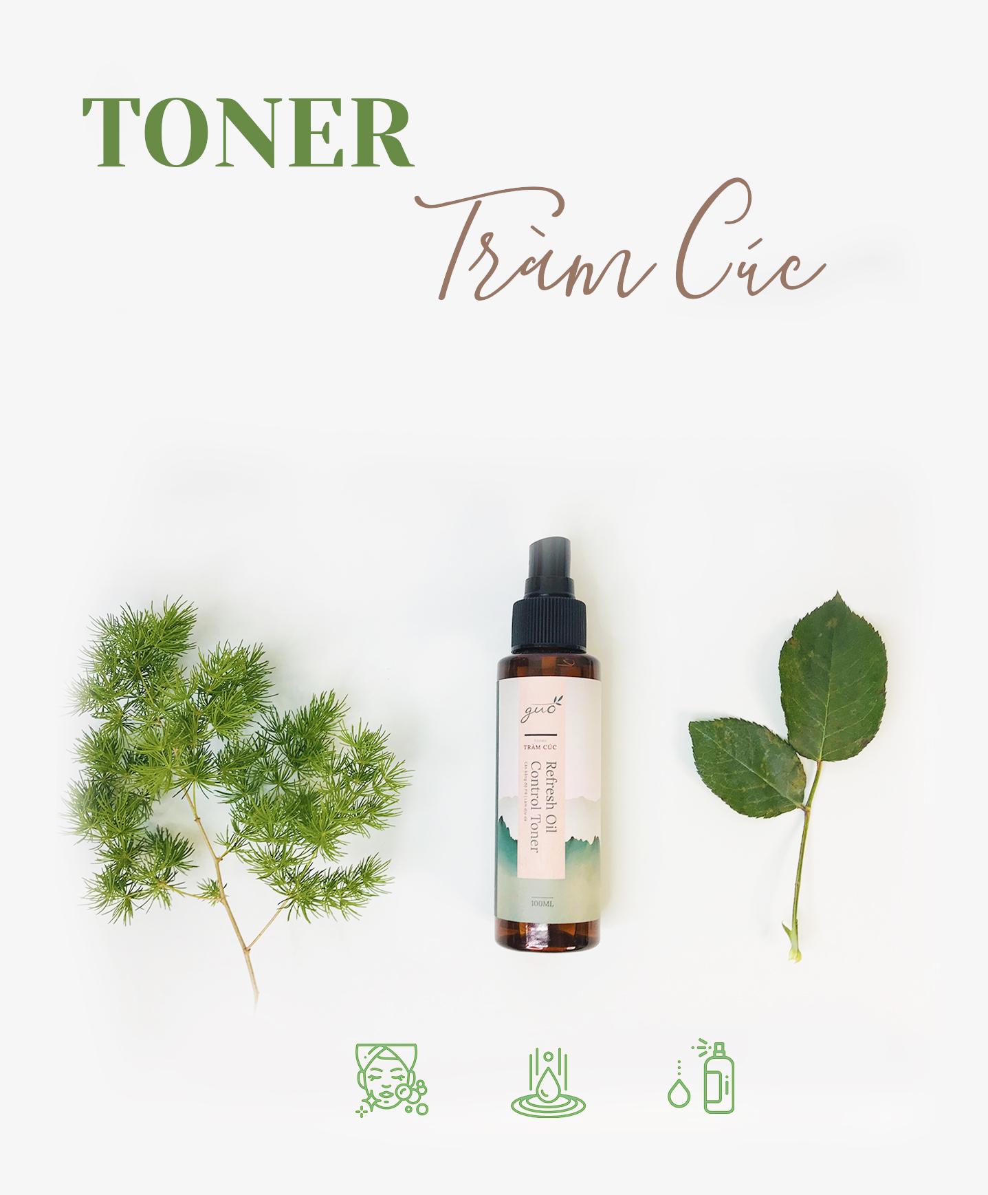 Công dụng của Toner trên da dầu