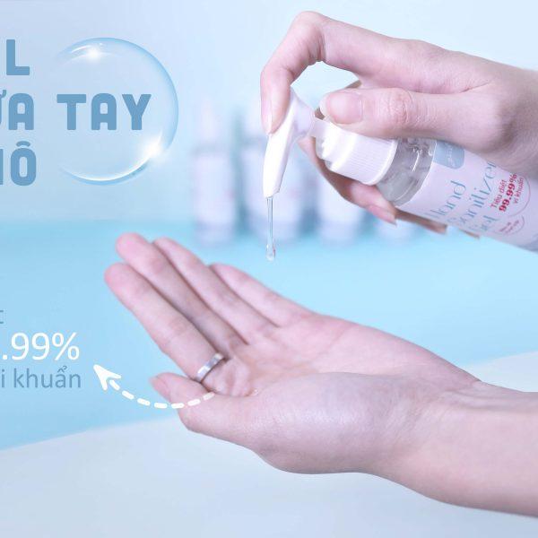 Gel rửa tay khô GUO