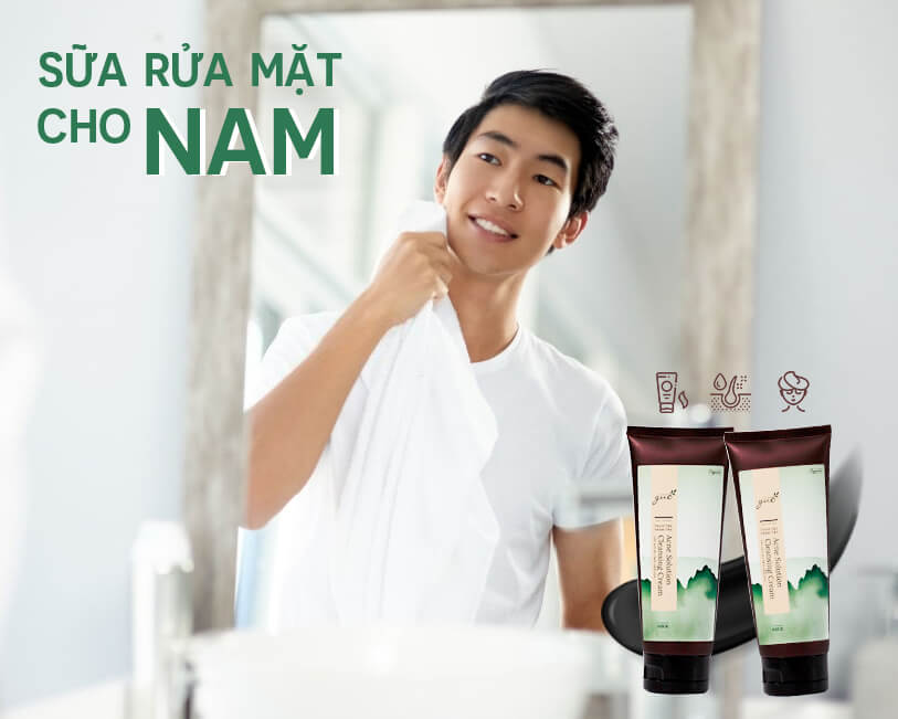 Sữa rửa mặt cho nam giới